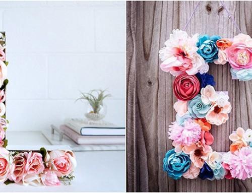 اصنعي بنفسك واضيفي لمسة لمنزلك من الزهور