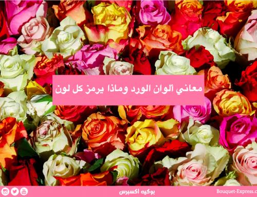 دليلك لأختيار لون الورد حسب المناسبات المختلفة